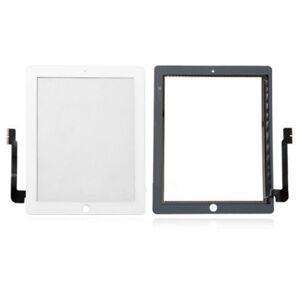 Apple iPad 3 - dotyková plocha, sklo (digitizér) originál - bílá