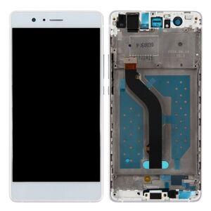 LCD displej + dotyková plocha pro Huawei P9 Lite s rámem, White