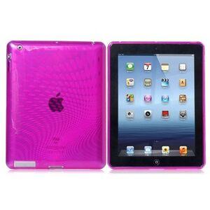 iCaseSilicone Purple iPad 2/3/4
