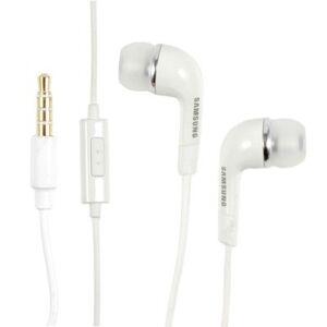 Samsung EHS64 stereo handsfree sluchátka 3,5 mm jack White