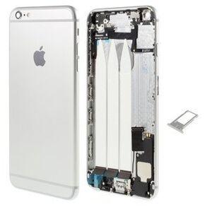 Apple Zadní kryt iPhone 6 stříbrný / silver s malými díly