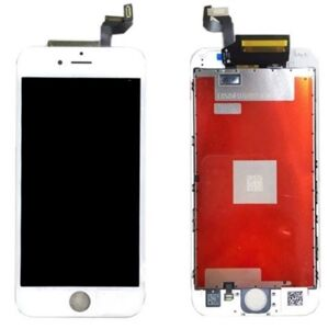 Apple Bílý LCD displej iPhone 6S + dotyková deska OEM