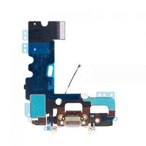 Apple iPhone 7 Plus - Světle šedý nabíjecí konektor + flex kabel s mikrofonem