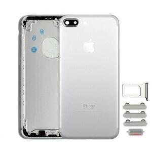 Apple Zadní kryt iPhone 7 Plus bílý / stříbrný