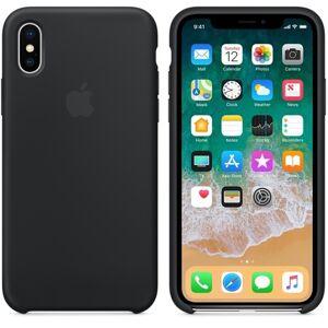 Apple iPhone X Silicone Case - BLACK MQT12ZM / A