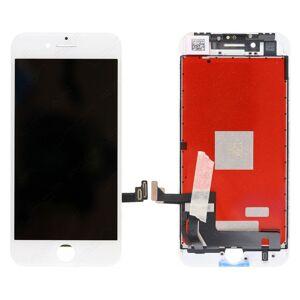 Apple ORIGINAL Bílý LCD displej iPhone 8 + dotyková deska