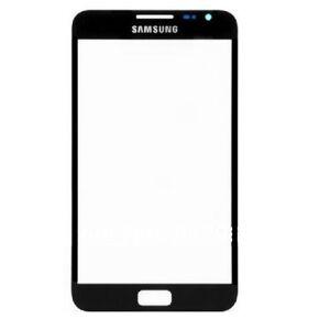 Přední dotykové sklo Samsung Galaxy Note 1 - černé