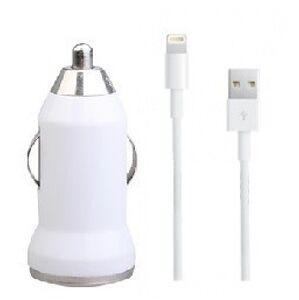 Autonabíječka pro iPhone s USB lightning kabelem