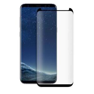 SES Ochranné tvrzené sklo 3D pro Samsung Galaxy S8 G950F - černé 140035404SK