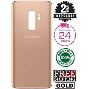 Samsung Galaxy S9 Plus - Zadní kryt - zlatý