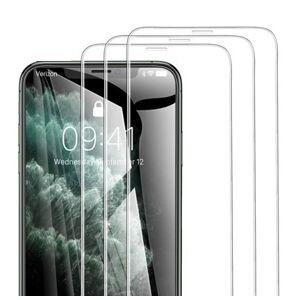 10ks balení - ochranné sklo - bez horního výřezu pro iPhone X