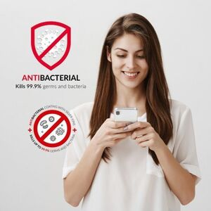 Forcell AntiBacterial kryt pro iPhone 6 Plus/6S Plus - transparentní