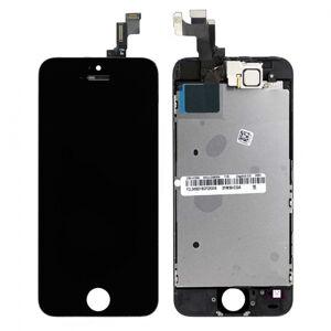 Apple ORIGINAL Černý LCD displej iPhone 5S s přední kamerou + proximity senzor OEM (bez home button)