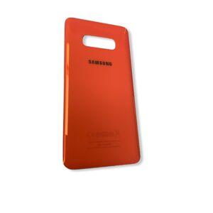 Samsung Galaxy S10e - Zadní kryt - oranžový
