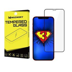 Wozinsky Full Glue Case friendly - 3D ochranné tvrzené sklo pro iPhone 12/iPhone 12 Pro