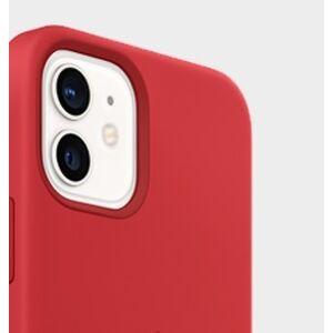 Slim Minimal iPhone 12 - matný červený