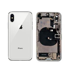Apple iPhone XS Max - Zadní Housing - bílý s malými díly