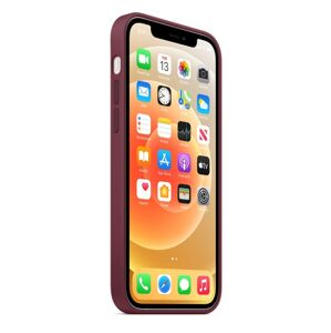 iPhone 12 Silicone Case - fialový