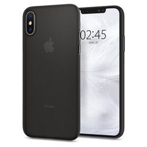 Ultratenký matný kryt iPhone X/XS černý