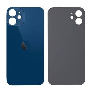 Apple iPhone 12 - Sklo zadního housingu se zvětšeným otvorem na kameru BIG HOLE - modré