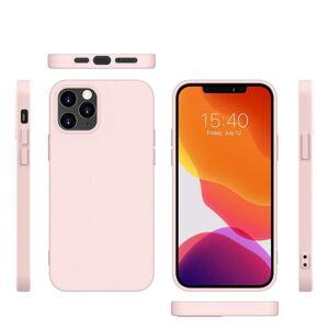 SOFT - Silikónový kryt pro iPhone 12 mini - ružový