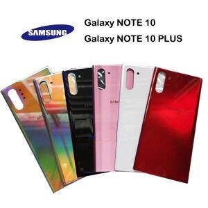 Samsung Galaxy Note 10/Note 10 Plus - Zadní kryt - černý