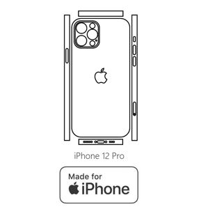 Hydrogel - zadní ochranná fólie (full cover) - iPhone 12 Pro - typ 7