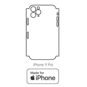 Hydrogel - zadní ochranná fólie (full cover) - iPhone 11 Pro - typ 2