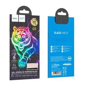 HOCO kvalitní tvrzené ochranné sklo na celý displej - iPhone 7 Plus/8 Plus - černé