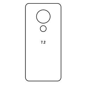 Hydrogel - matná zadní ochranná fólie - Nokia 7.2