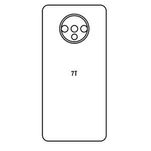 Hydrogel - matná zadní ochranná fólie - OnePlus 7T