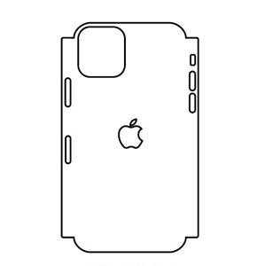 Hydrogel - zadní ochranná fólie (full cover) - iPhone 11 Pro Max - typ 5