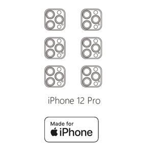 Hydrogel - ochranná fólie zadní kamery - iPhone 12 Pro - 6ks v balení