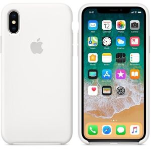 Apple iPhone XS Silicone Case - WHITE MQGP2FE / A