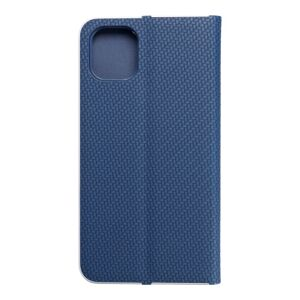 """Forcell LUNA Book Carbon for iPhone 11 2019 (6,1"""") blue"""