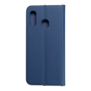 Forcell LUNA Book Carbon for SAMSUNG Galaxy A20e blue