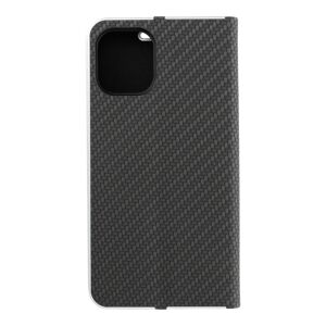 Forcell LUNA Book Carbon for iPhone 12 MINI black