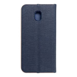 Forcell LUNA Book Gold for SAMSUNG Galaxy J3 2017 navy blue