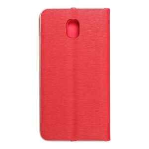 Forcell LUNA Book Gold for SAMSUNG Galaxy J5 2017 red