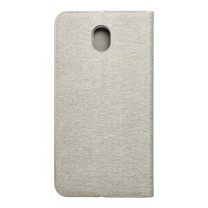 Forcell LUNA Book Gold for SAMSUNG Galaxy J7 2017 silver