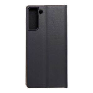 Forcell LUNA Book Gold for SAMSUNG Galaxy S21 Plus black