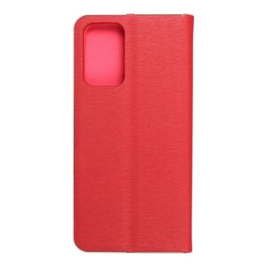 Forcell LUNA Book Gold for SAMSUNG Galaxy A72 LTE ( 4G ) red