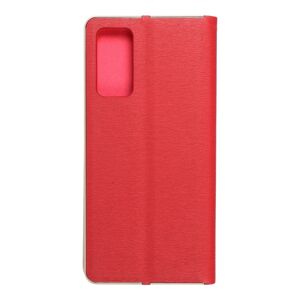 Forcell LUNA Book Gold for SAMSUNG Galaxy S20 FE / S20 FE 5G red