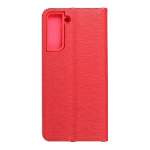 Forcell LUNA Book Gold for SAMSUNG Galaxy S21 red