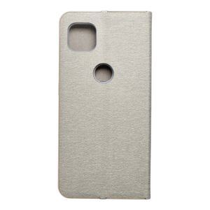 Forcell LUNA Book Gold for MOTOROLA MOTO G 5G silver