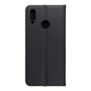 Forcell LUNA Book Gold for HUAWEI P Smart 2019 black