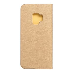 Forcell LUNA Book Gold for SAMSUNG Galaxy S9 gold