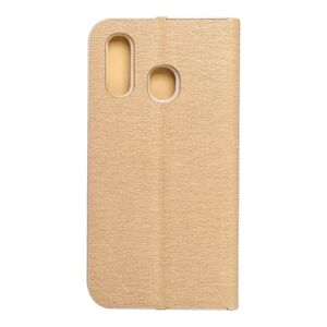 Forcell LUNA Book Gold for SAMSUNG Galaxy A40 gold