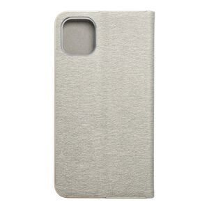 Forcell LUNA Book Gold for iPhone 11 2019 (6,1) silver