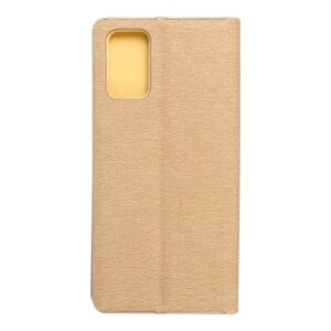 Forcell LUNA Book Gold for SAMSUNG Galaxy S20 Plus gold